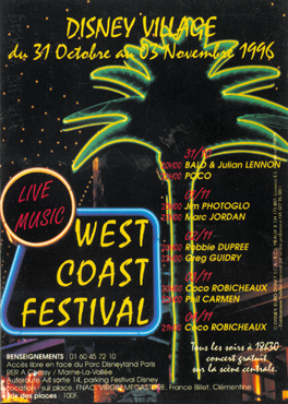 WestCoast Festival poster